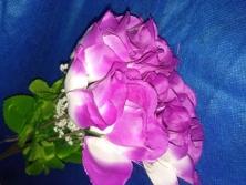 FA014 -Botões de Rosas artificiais lindas cores!