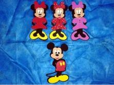 Cod.EN022 - Mickey e Minnie Corpinho Pequeno