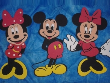 Cod.EN023 - Mickey e Minnie Rande